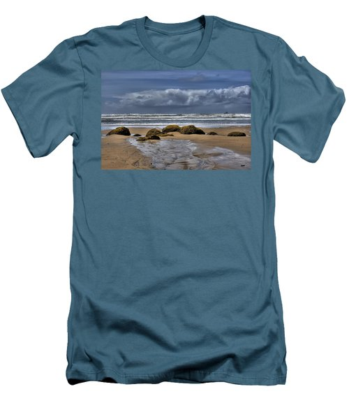 Indian Beach Men's T-Shirt (Athletic Fit)