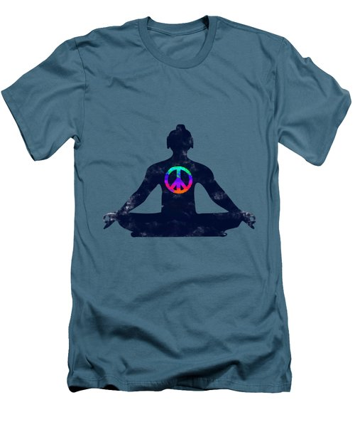 Inner Peace Men's T-Shirt (Athletic Fit)