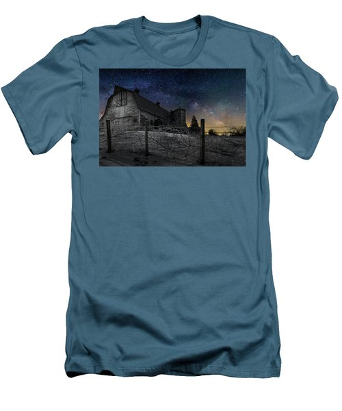 Men's T-Shirt (Slim Fit) featuring the photograph Interstellar Farm by Bill Wakeley