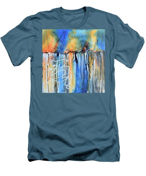 Into The Earth Men's T-Shirt (Slim Fit) by Nancy Jolley