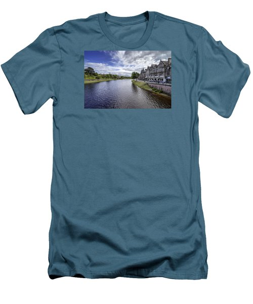 Men's T-Shirt (Slim Fit) featuring the photograph Inverness by Jeremy Lavender Photography