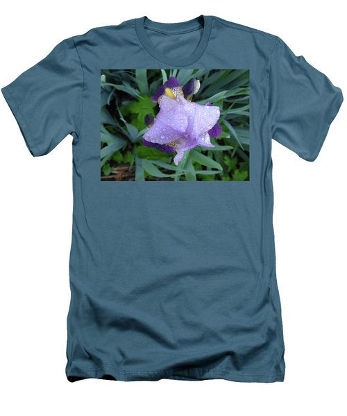 Iris After The Rain IIi Men's T-Shirt (Athletic Fit)