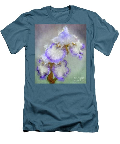 Iris After The Rain Men's T-Shirt (Slim Fit) by Suzanne Handel