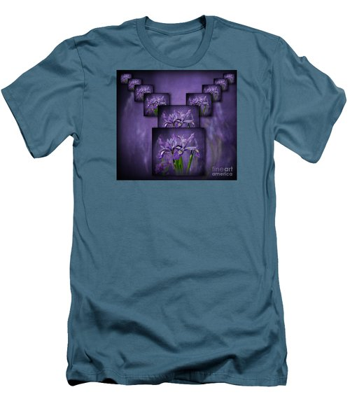Iris Stack Men's T-Shirt (Slim Fit)