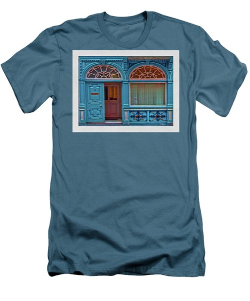 Men's T-Shirt (Athletic Fit) featuring the digital art Irish Door by Hanny Heim