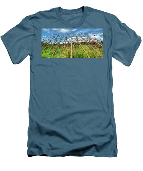 Irrigation Pipes 1 Men's T-Shirt (Slim Fit) by Jerry Sodorff
