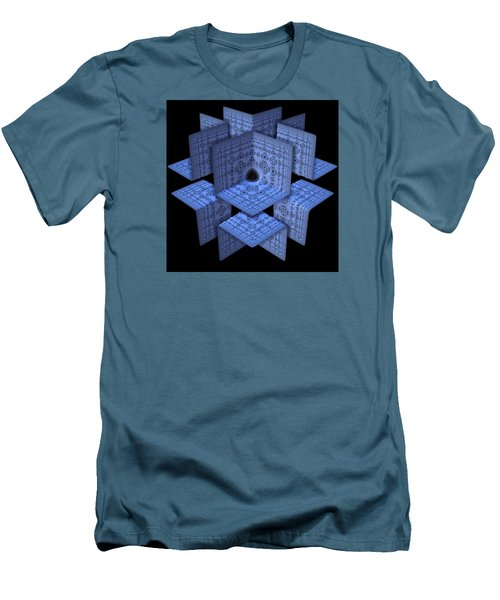 Men's T-Shirt (Slim Fit) featuring the digital art Isolation by Lyle Hatch