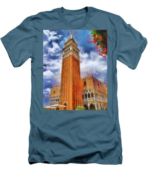 Italy In Florida Men's T-Shirt (Athletic Fit)