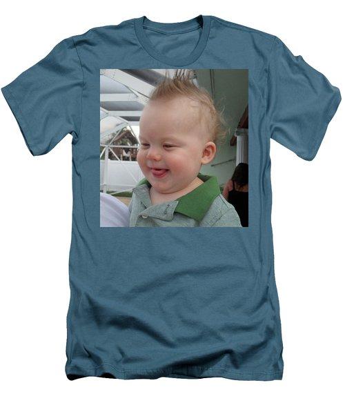 I've Got A Secret Men's T-Shirt (Slim Fit) by Val Oconnor