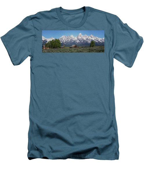Jackson Hole Men's T-Shirt (Athletic Fit)