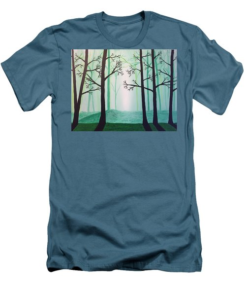 Jaded Forest Men's T-Shirt (Athletic Fit)