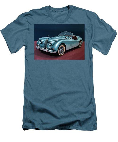 Jaguar Xk140 1954 Painting Men's T-Shirt (Athletic Fit)