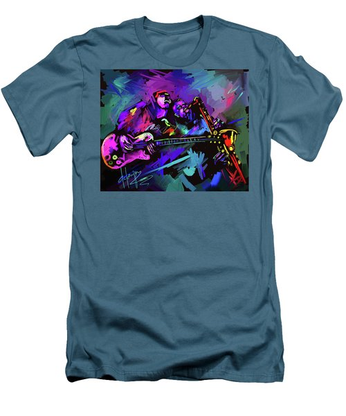 Jammin' The Funk Men's T-Shirt (Slim Fit) by DC Langer