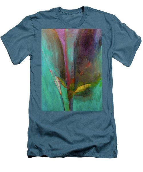 Japanese Longstem  Men's T-Shirt (Slim Fit) by Iconic Images Art Gallery David Pucciarelli