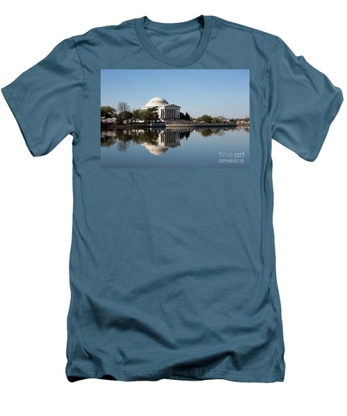 Jefferson Memorial Cherry Blossom Festival Men's T-Shirt (Athletic Fit)