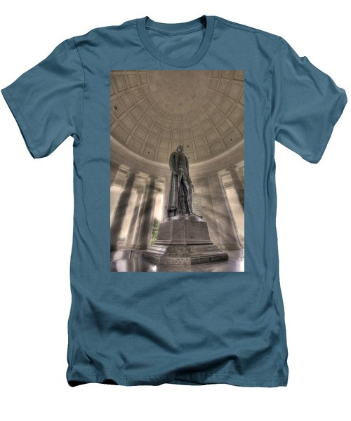 Jefferson Memorial Men's T-Shirt (Athletic Fit)