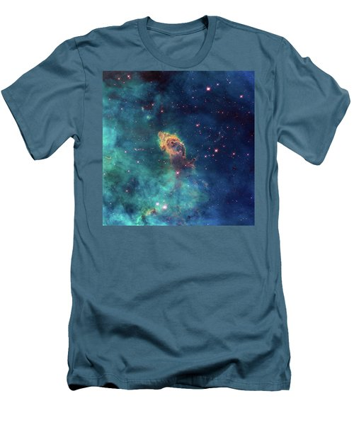 Men's T-Shirt (Slim Fit) featuring the photograph Jet In Carina by Marco Oliveira