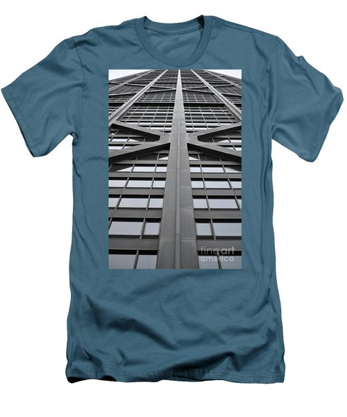 John Hancock Building Men's T-Shirt (Athletic Fit)