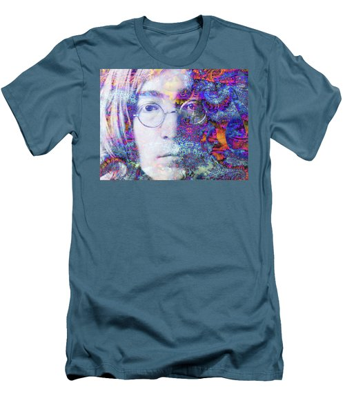Men's T-Shirt (Slim Fit) featuring the digital art John by Robert Orinski