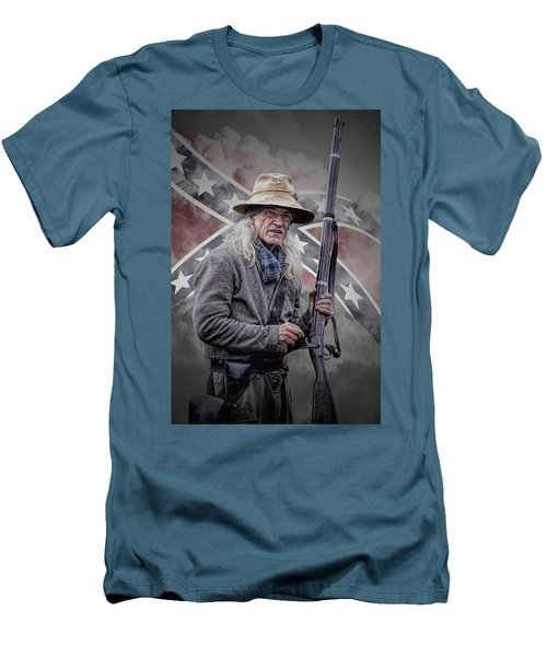 Johnny Reb Men's T-Shirt (Athletic Fit)