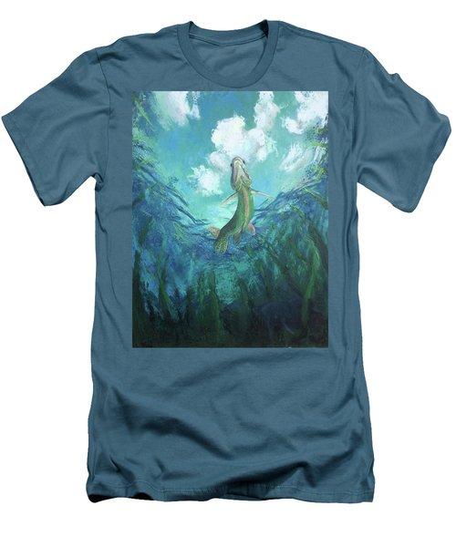 Joi De Vivre Men's T-Shirt (Athletic Fit)