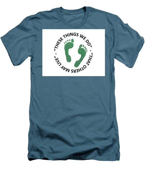 Jolly Green Men's T-Shirt (Athletic Fit)