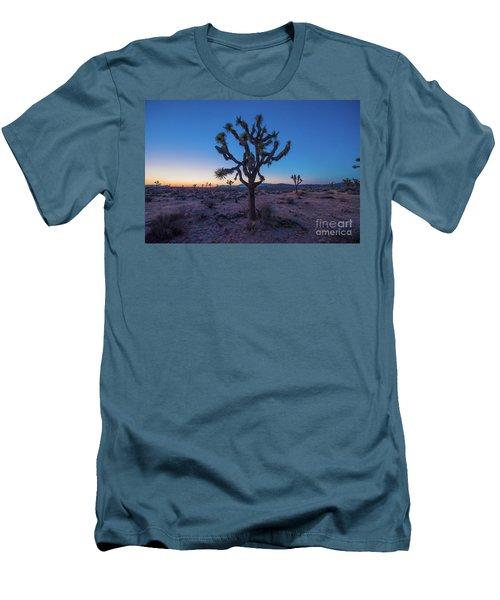 Joshua Tree Glow Men's T-Shirt (Slim Fit) by Robert Loe