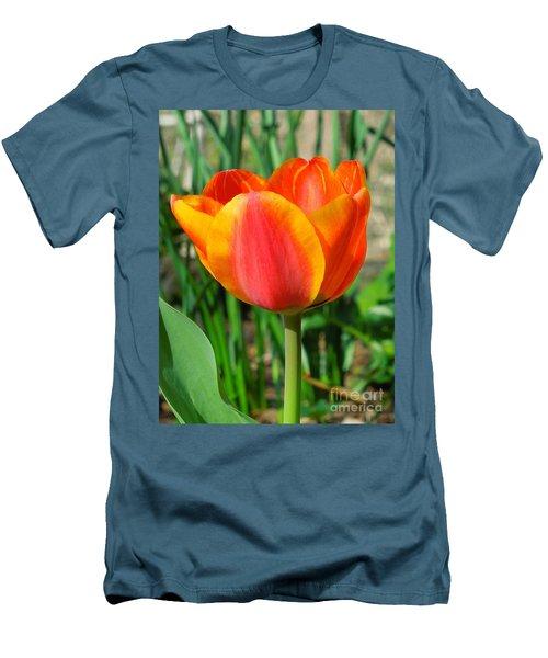 Joyful Tulip Men's T-Shirt (Athletic Fit)