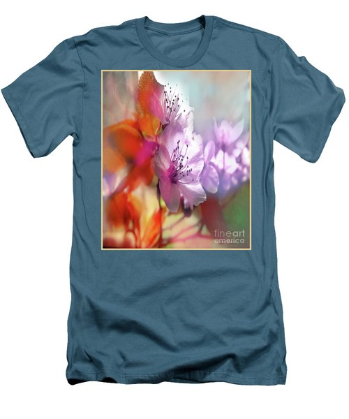 Men's T-Shirt (Athletic Fit) featuring the photograph Juego Floral by Alfonso Garcia