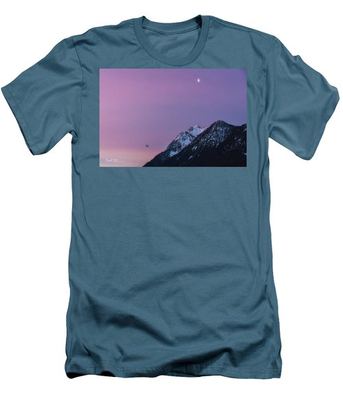 Jumbo Sunrise Men's T-Shirt (Athletic Fit)