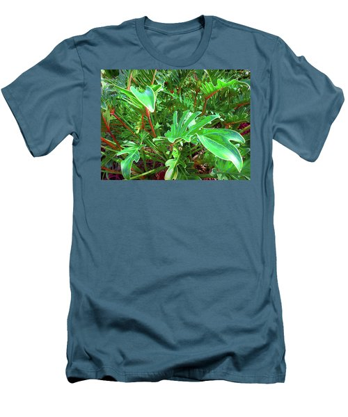 Jungle Greenery Men's T-Shirt (Athletic Fit)
