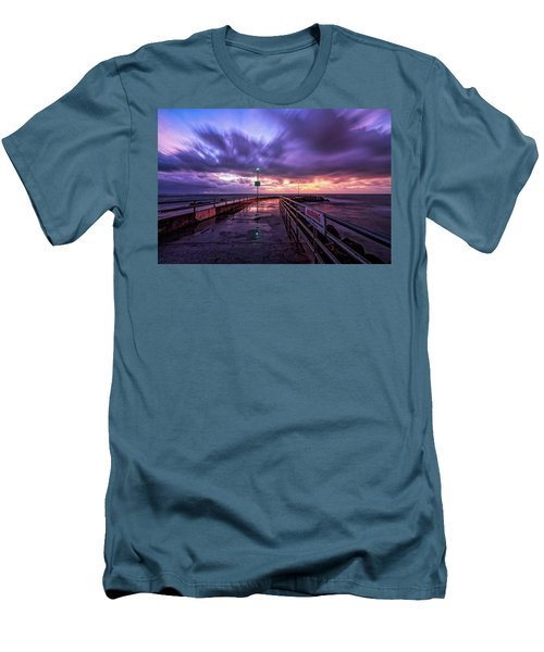 Jupiter Inlet Jetty Men's T-Shirt (Athletic Fit)