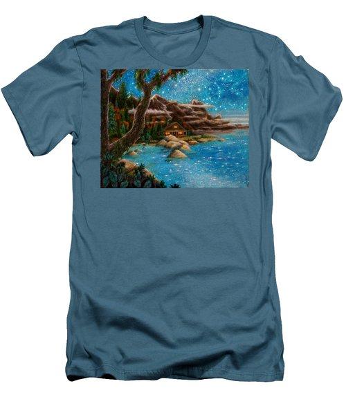 Just Before Dawn Men's T-Shirt (Slim Fit) by Matt Konar