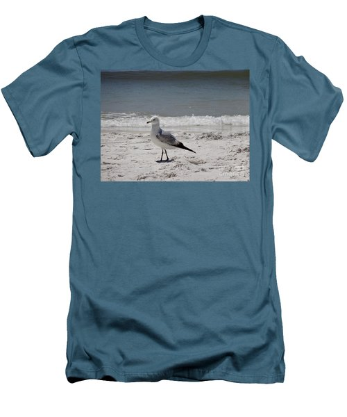 Just Strolling Along Men's T-Shirt (Slim Fit) by Megan Cohen