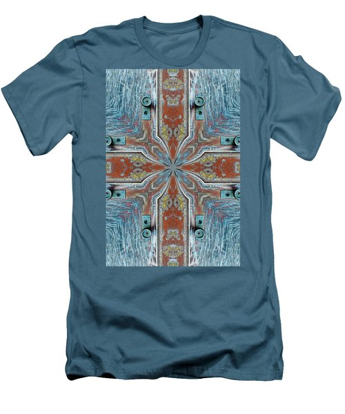 K 112 Men's T-Shirt (Slim Fit) by Jan Amiss Photography