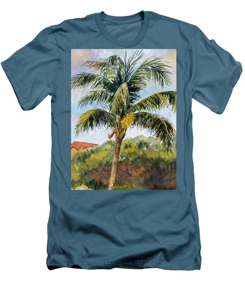 Kaanapali Palm Men's T-Shirt (Slim Fit) by William Reed