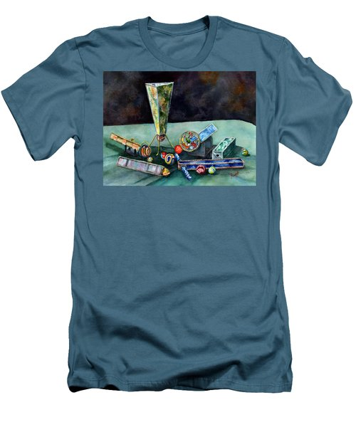 Kaleidoscopes Men's T-Shirt (Slim Fit) by Sam Sidders