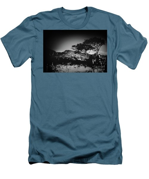 Kaupo Gap East Maui Hawaii Men's T-Shirt (Slim Fit) by Sharon Mau