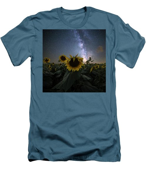 Men's T-Shirt (Athletic Fit) featuring the photograph Keep Your Head Up by Aaron J Groen