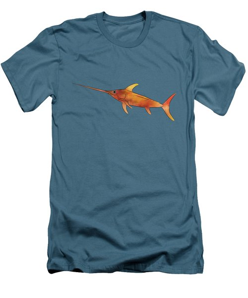 Kessonius V1 - Amazing Swordfish Men's T-Shirt (Slim Fit) by Cersatti