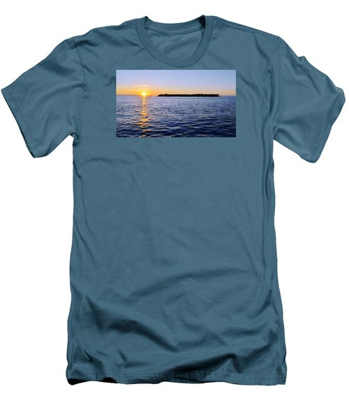 Men's T-Shirt (Slim Fit) featuring the photograph Key Glow by Chad Dutson