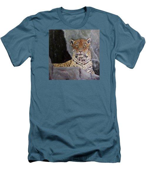 Khensu,  Jaguar Men's T-Shirt (Athletic Fit)