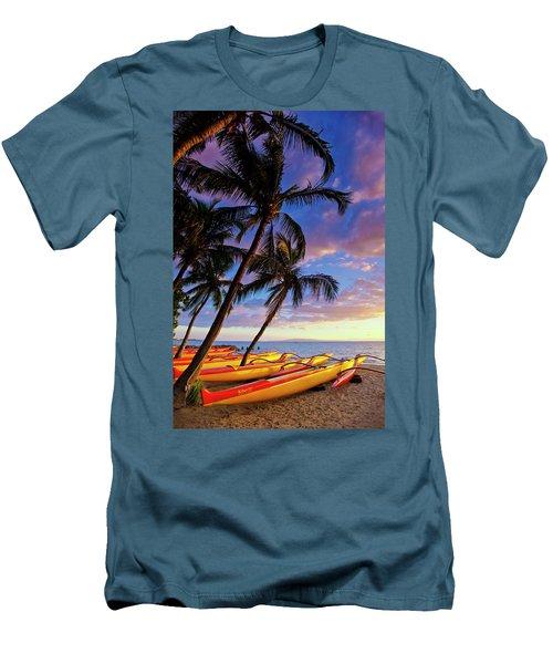 Kihei Canoe Club Men's T-Shirt (Athletic Fit)
