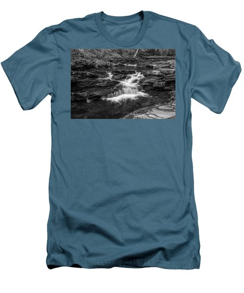 Men's T-Shirt (Slim Fit) featuring the photograph Kitchen Creek - 8902 by G L Sarti