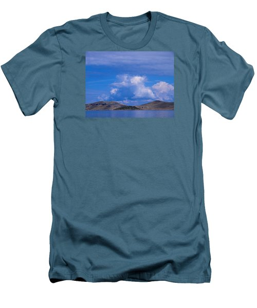 Kornati National Park Men's T-Shirt (Slim Fit) by Jouko Lehto