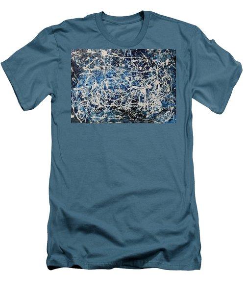 Krno4 Men's T-Shirt (Slim Fit) by Ryuji Kogachi