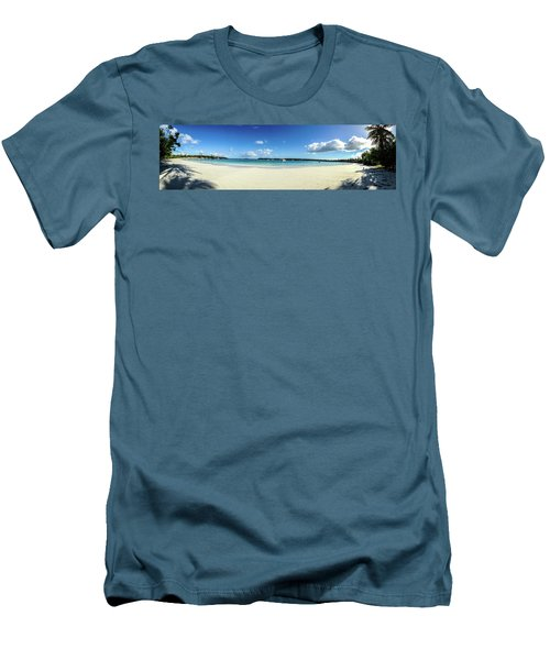 Kuto Bay Morning Pano Men's T-Shirt (Athletic Fit)