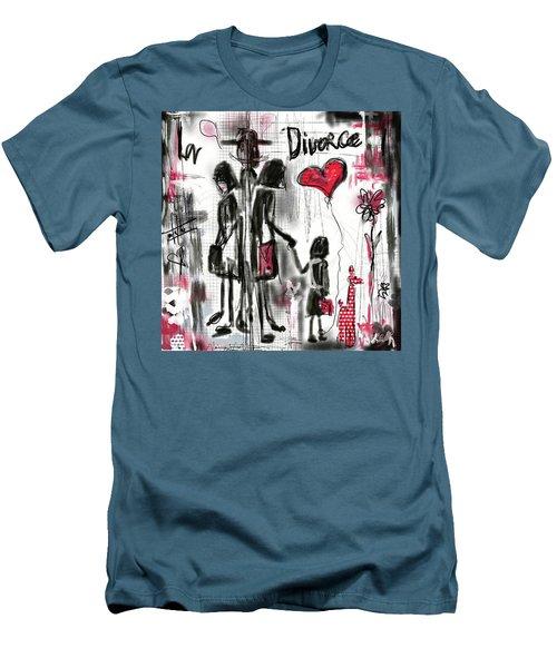 La Divorce  Men's T-Shirt (Athletic Fit)