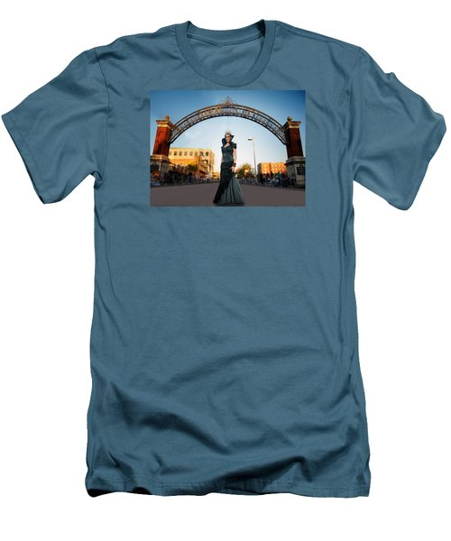 Men's T-Shirt (Slim Fit) featuring the photograph La Reina The Queen by Steve Sperry