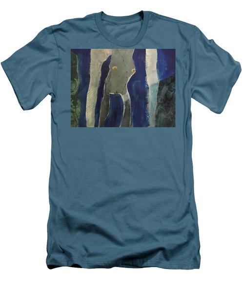 Lady Long Arms Men's T-Shirt (Athletic Fit)
